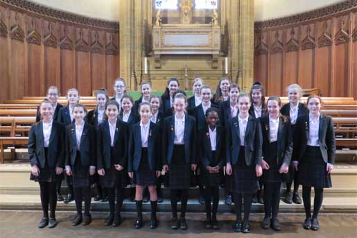 Year 7 and 8 Chamber Choir